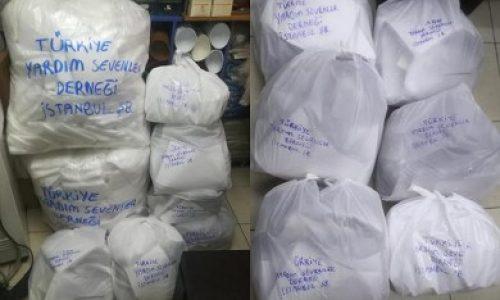 TYSD İstanbul Şubemizin Sağlık Çalışanlarımıza Tıbbi Malzeme Desteği
