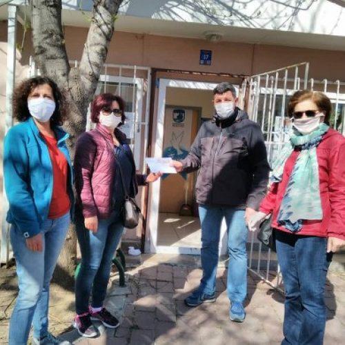 TYSD Çanakkale Şubemizin Erzak Çeki Yardımı