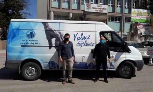 TYSD Genel Merkezimizin Gıda Yardımı