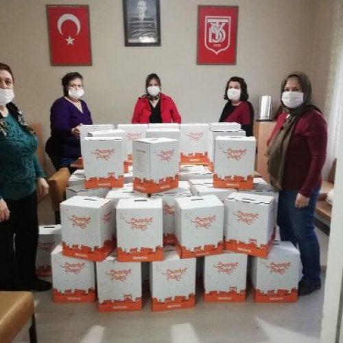 TYSD Soma Şubemizin Erzak Yardımı