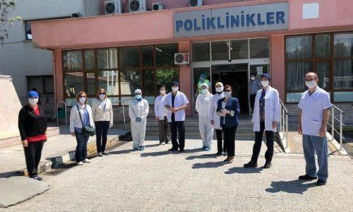 TYSD Akhisar Şubemizin Sağlık Çalışanlarımıza Tıbbi Malzeme Desteği