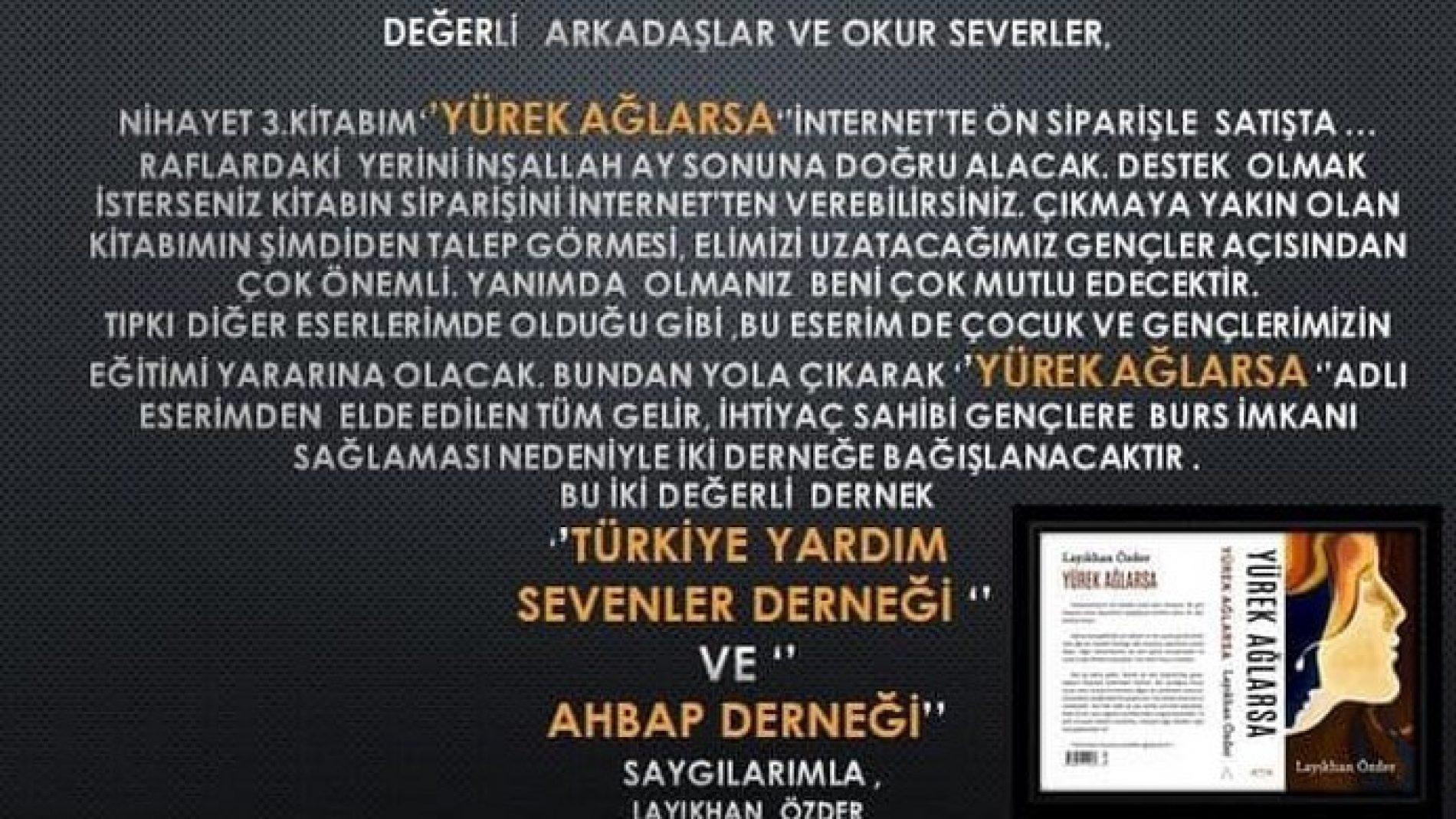 TYSD Genel Merkezi Üyelerinden Sayın Layıkhan Özder Hanımın Atatürk Eğitim Burslu Öğrencilerimize Anlamlı Bağışı