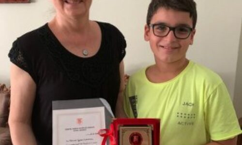 TYSD Burdur Şubemizin En Genç Bağışçımız