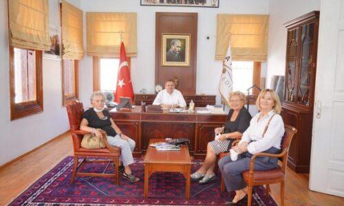 TYSD Beyoğlu Şubemizin Ayvalık Belediye Başkanı Mesut Ergin'i Ziyareti