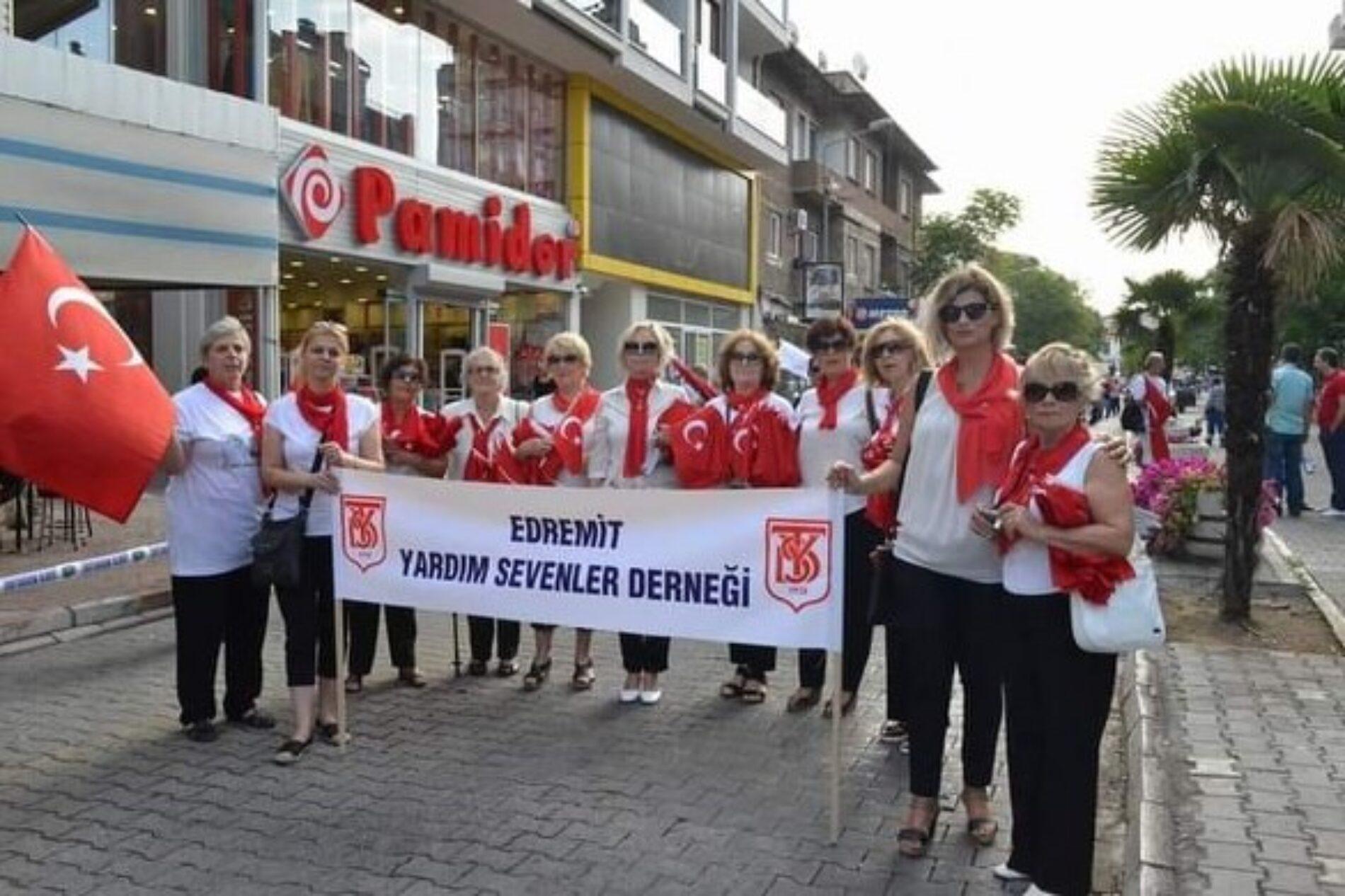 TYSD Edremit Şubemizin İzmir'in Düşman İşgalinden Kurtuluş Yıldönümü Kutlama Mesajı