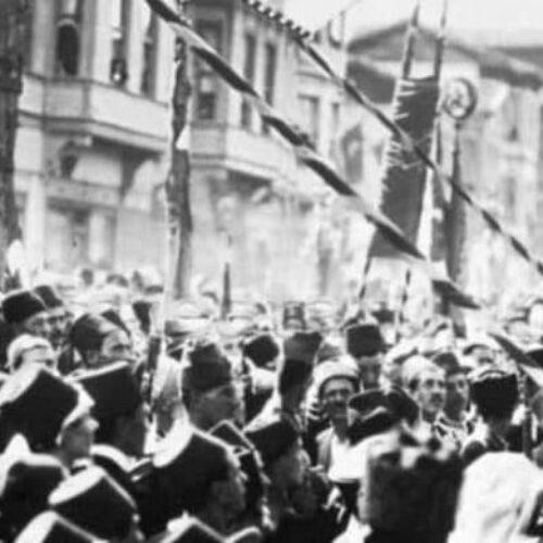 TYSD Genel Merkez ve 132 Şubemizin Bursa'nın Düşman İşgalinden Kurtuluş Yıldönümü Kutlama Mesajı