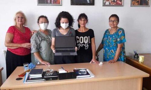 TYSD Kuşadası Şubemizin Bilgisayar ve Medikal Ayakkabı Yardımları