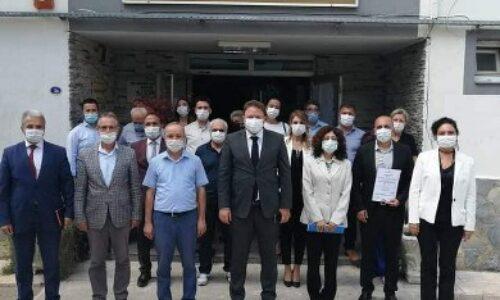 """TYSD İzmir Şubemizin """"Okulum Temiz"""" Belgesi"""