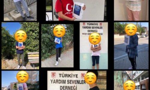 TYSD Mudanya Şubemizin Öğrencilerimize Tablet Yardımı