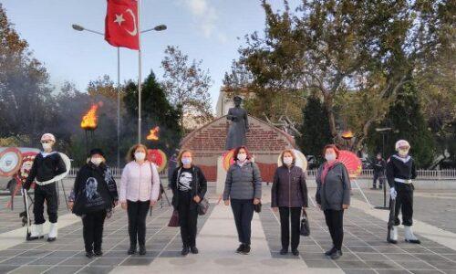 TYSD Çanakkale Şubemiz Atamızı Sevgi, Saygı ve Hasretle Andı