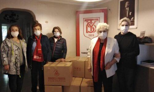 TYSD Konya Meram Şubemizin Madencilerimize ve Ailelerine Kıyafet ve Oyuncak Yardımı