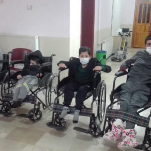 TYSD Ağrı Şubemizin Tekerlekli Sandalye Yardımı
