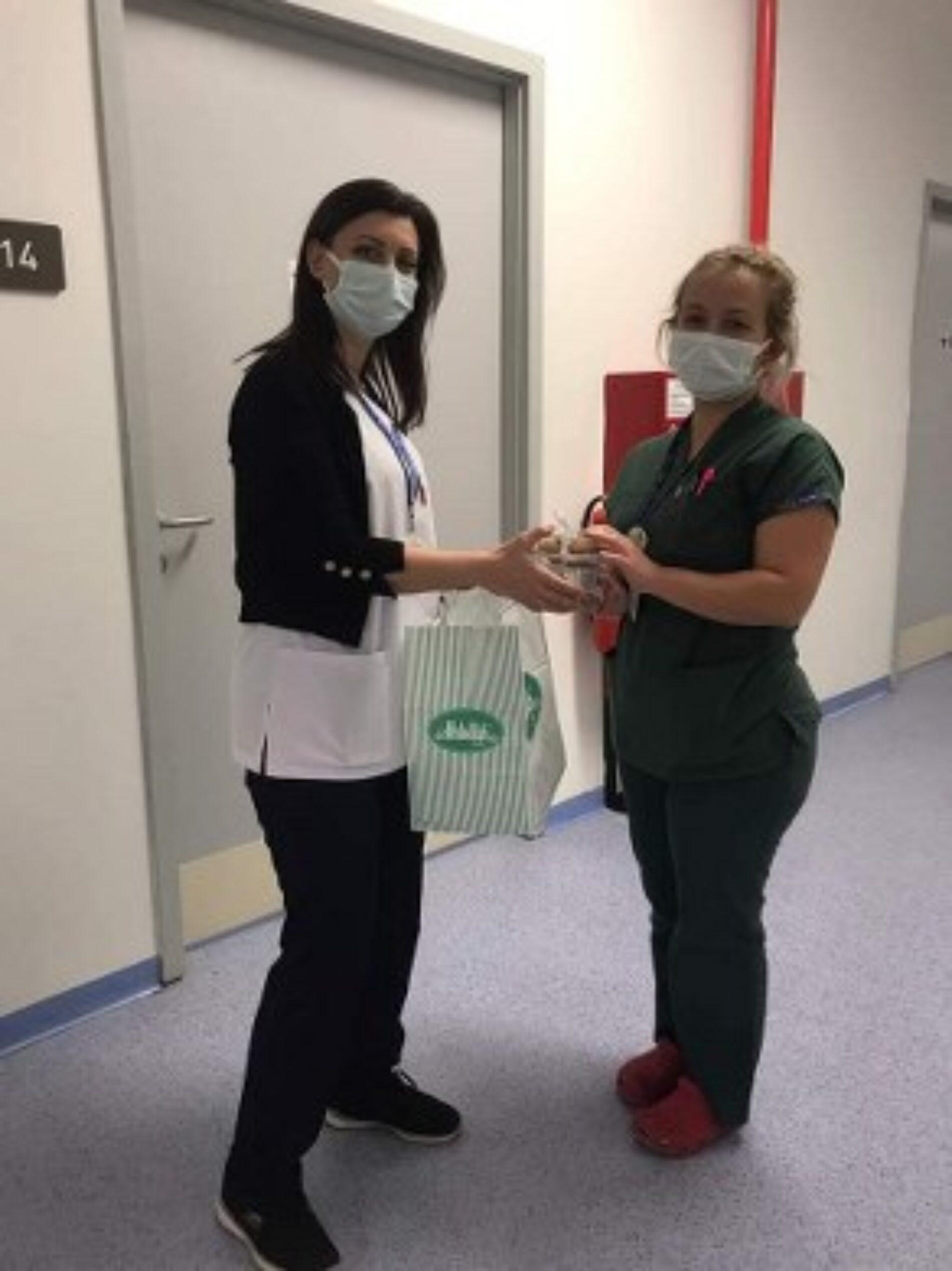 TYSD Bakırköy Şubemizin Sağlık Çalışanlarına Destekleri
