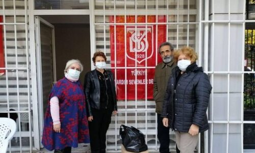 TYSD Karşıyaka Şubemizin İzmir Depremindeki Depremzedelere Yardımları