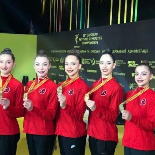 TYSD Genel Merkezi ve 132 Şubemizin Kadın Cimnastik Grup Milli Takımımıza Kutlama Mesajı