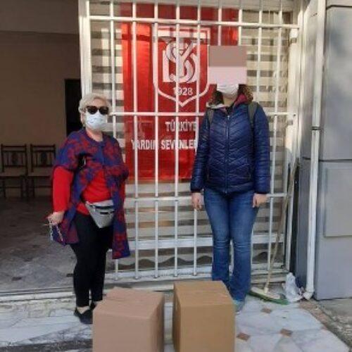 TYSD Karşıyaka Şubemiz Depremin Yaralarını Sarıyor