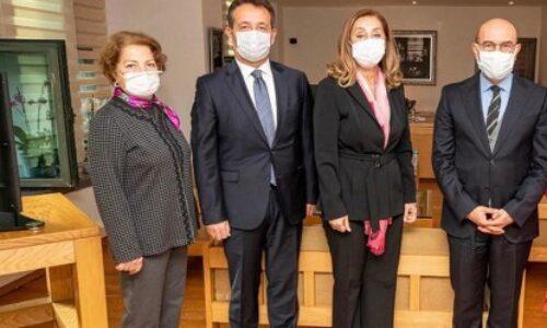 TYSD Genel Başkanımız Seferihisar ve İzmir Belediye Başkanlarına Makamlarında İzmir Depremi İçin Geçmiş Olsun Dileklerini İletti