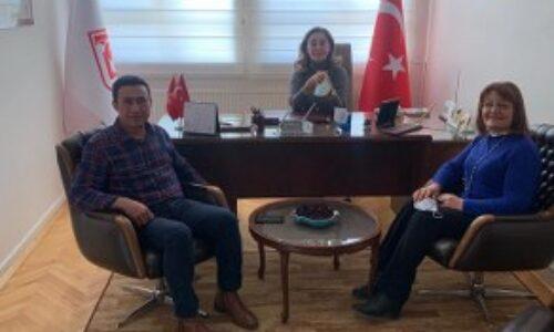 TYSD Genel Merkezimize Polatlı Şubemizin Başkanı ve Eşinin Ziyaretleri