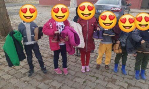 TYSD Kağıthane Şubemizin Öğrencilerimize Giysi Yardımı