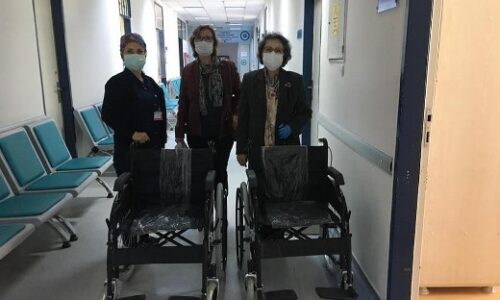 TYSD Bornova Şubemiz Ege Üniversitesi Hastanesi Genel Cerrahi Bölümüne Ait Bir Odayı Yeniledi