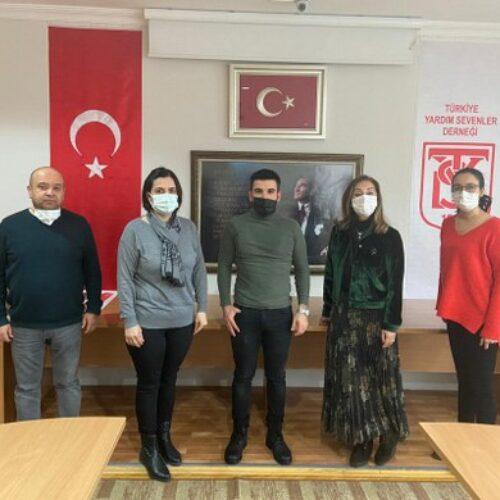TYSD Genel Merkezimize Atatürk Eğitim Burslu Mezunumuzun Ziyareti