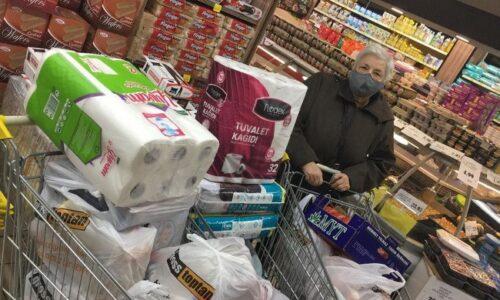 TYSD Konya Meram Şubemizin Market Alışverişi Yardımları