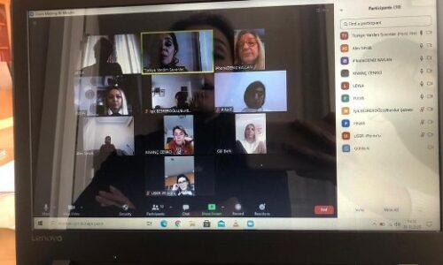 TYSD Genel Merkezimizin Şubelerimizle Çevrimiçi Toplantısı