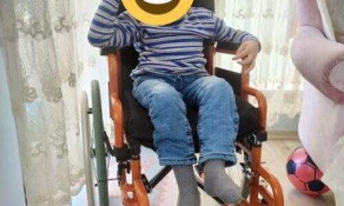 TYSD İstanbul Şubemizin Serebral Palsi Hastası Çocuklarımıza Özel Yapım Sandalye Yardımları