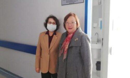 TYSD Bornova Şubemiz Ege Üniversitesi Hastanesi Genel Cerrahi Bölümünde Bir Oda Daha Yeniledi