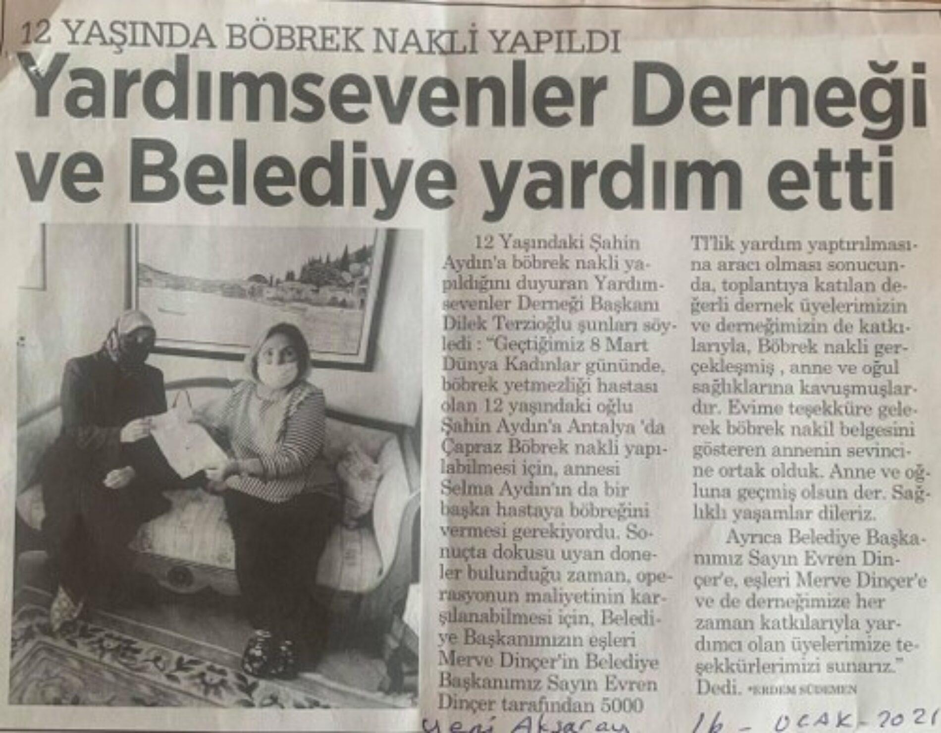 TYSD Aksaray Şubemiz