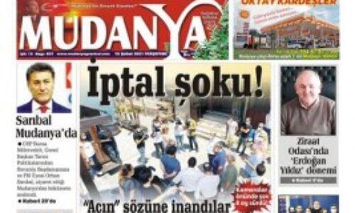 TYSD Mudanya Şubemiz Yerel Basında Yer Aldı