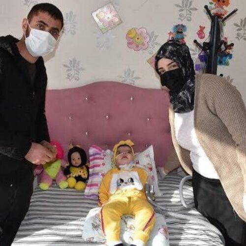 TYSD Beyoğlu Şubemizin SMA Hastası Bebeğimize Yardımları