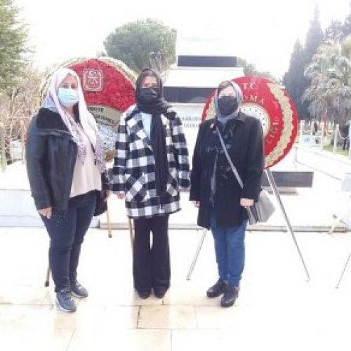 TYSD Soma Şubemiz 18 Mart Çanakkale Şehitlerimizi Anma Programında