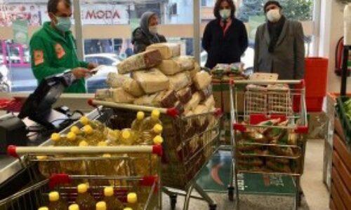 TYSD Kağıthane Şubemizin 8 Mart Dünya Kadınlar Günüde 50 Kadınımıza Gıda Yardımı