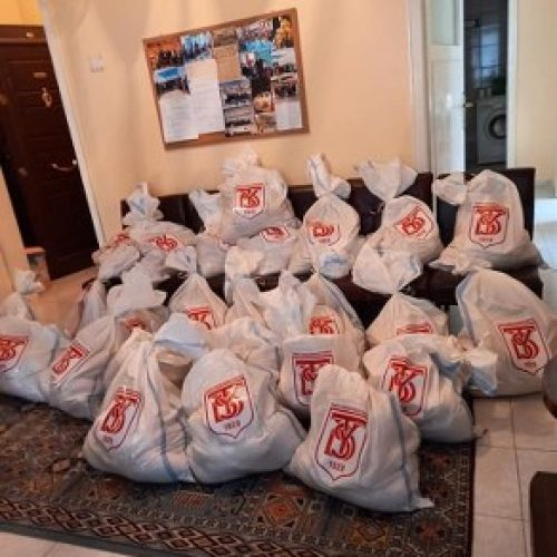 TYSD Kahramanmaraş Şubemizin Gıda Yardımları