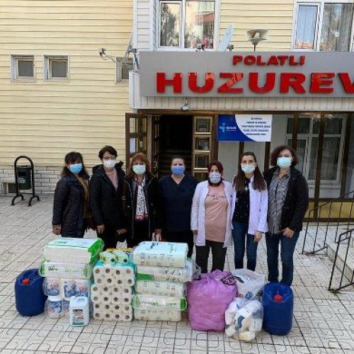 """TYSD Polatlı Şubemizin """"Polatlı Huzurevi""""ne Ziyaretleri ve Yardımları"""