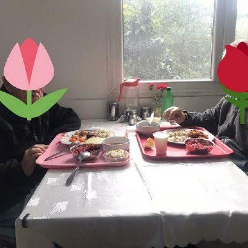 TYSD Genel Merkezimizin Dinlenme Evi ve Huzurevindeki Büyüklerimize İftar Yemeği İkramları