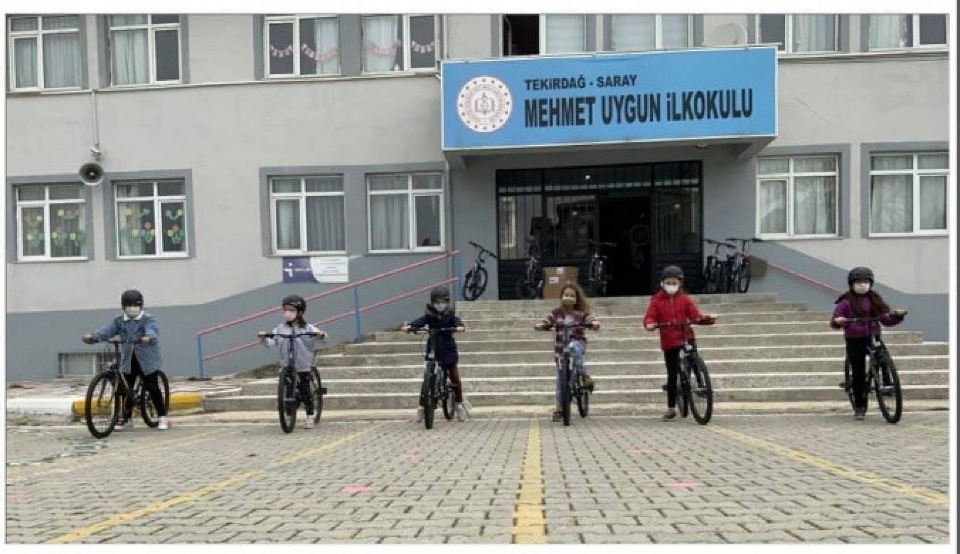 TYSD Kağıthane Şubemizin Çocuklarımıza Bisiklet Armağanları