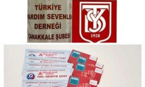 TYSD Çanakkale Şubemizin Ramazan Ayı Yardımları