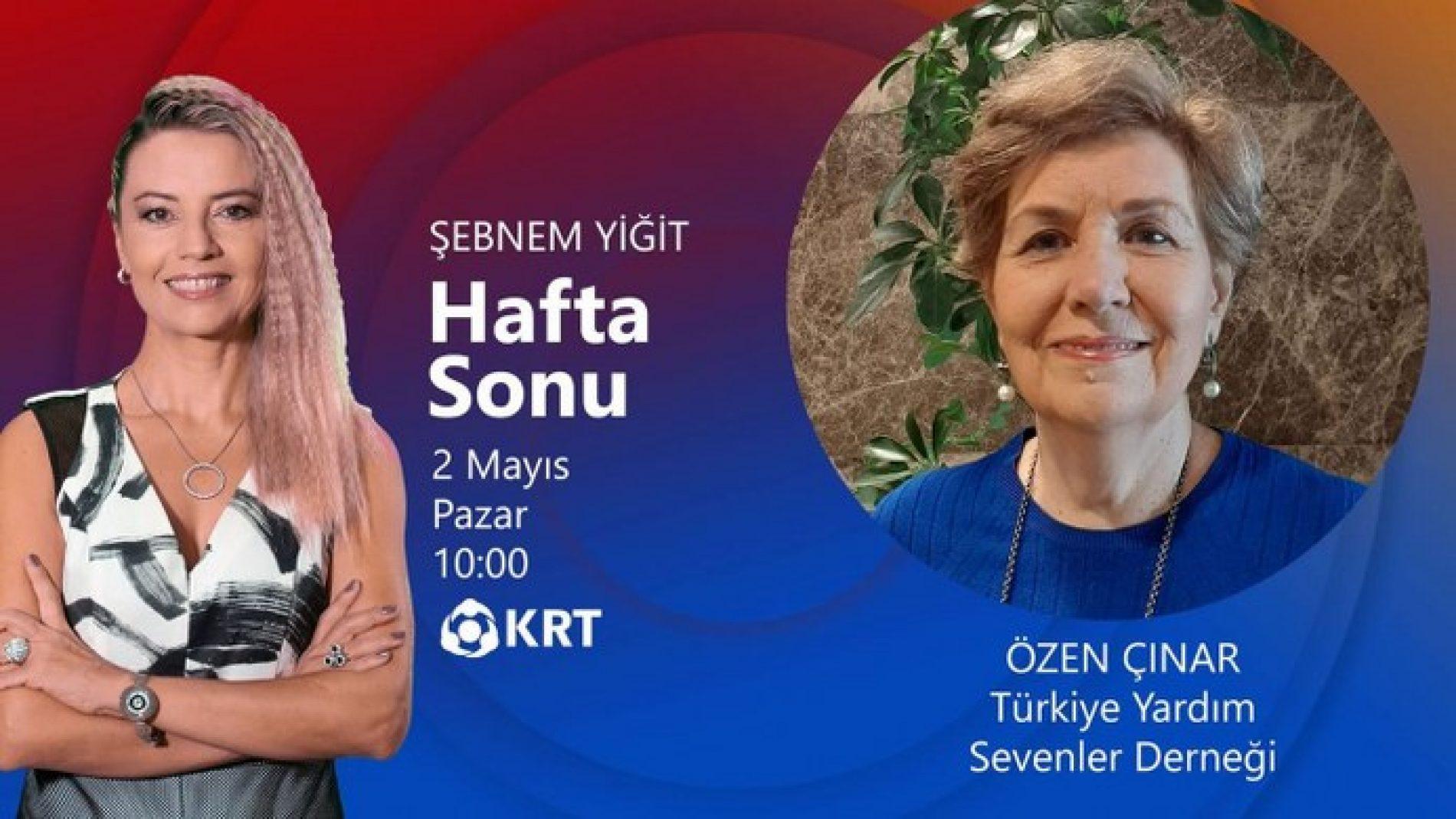 TYSD İstanbul Şubemiz KRT Televizyon Ekranlarında