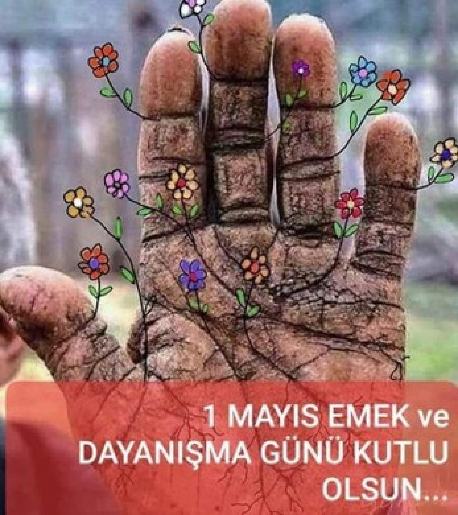 TYSD Genel Merkezimiz ve 132 Şubemizin 1 Mayıs Emek ve Dayanışma Günü Kutlama Mesajı