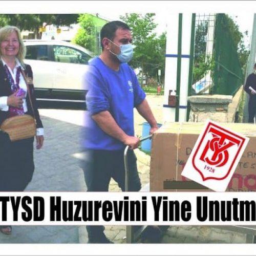 TYSD Didim Şubemizin Huzurevi Sakilerini Ziyaretleri ve Yardımları
