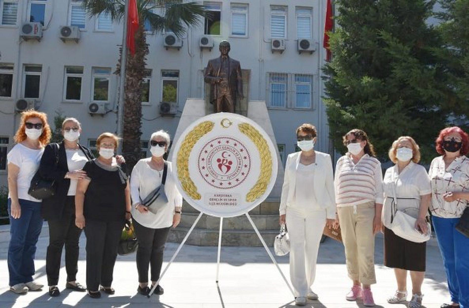 TYSD Karşıyaka Şubemizin 19 Mayıs Atatürk'ü Anma Gençlik ve Spor Bayramı Kutlamalarında Yer Aldı