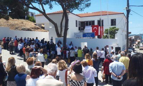 TYSD Beyoğlu Şubemiz Ayvalık Hamdi Bey Mahalle Evinin Açılışında