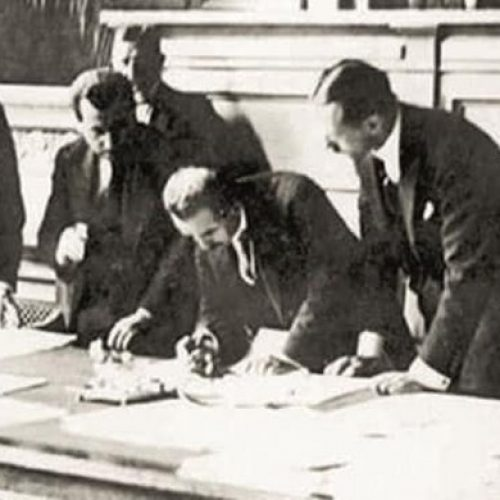 TYSD Genel Merkez ve 132 Şubemiz Lozan Barış Antlaşması'nın 98. Yılını Kutlar