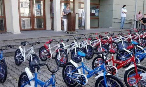 TYSD Çatalzeytin Şubemizin Çocuklarımıza Bisiklet Armağanları