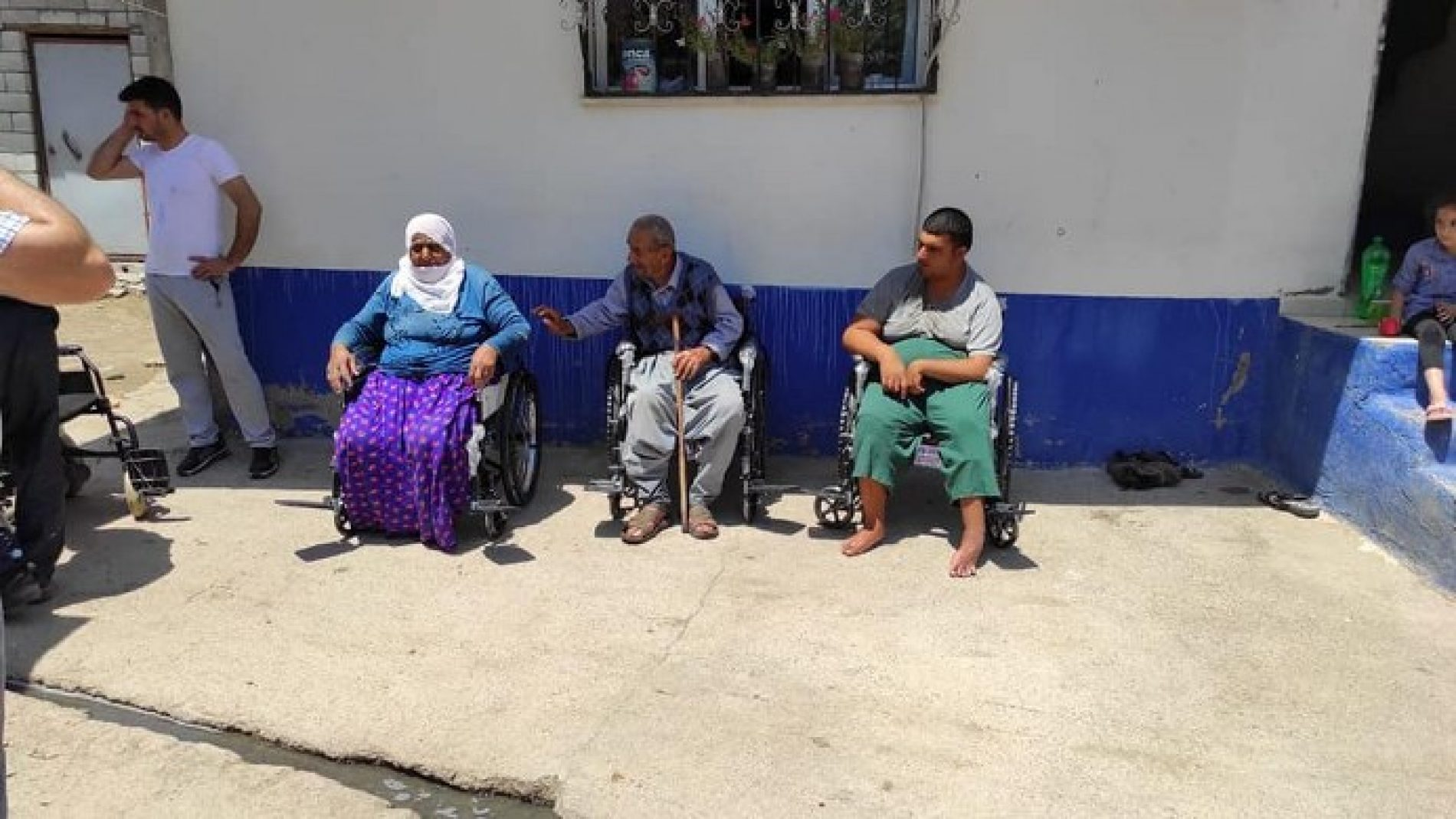 TYSD Beyoğlu Şubemizin Tekerlekli Sandalye Yardımları