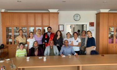 TYSD Genel Merkezimize Mezun Olan Öğrencimizin Duygusal Ziyareti
