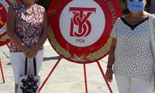 TYSD Çanakkale Şubemiz 30 Ağustos Zafer Bayramımızı Kutladı